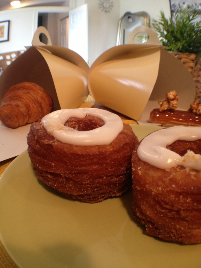 dominique ansel's world famous cronut.