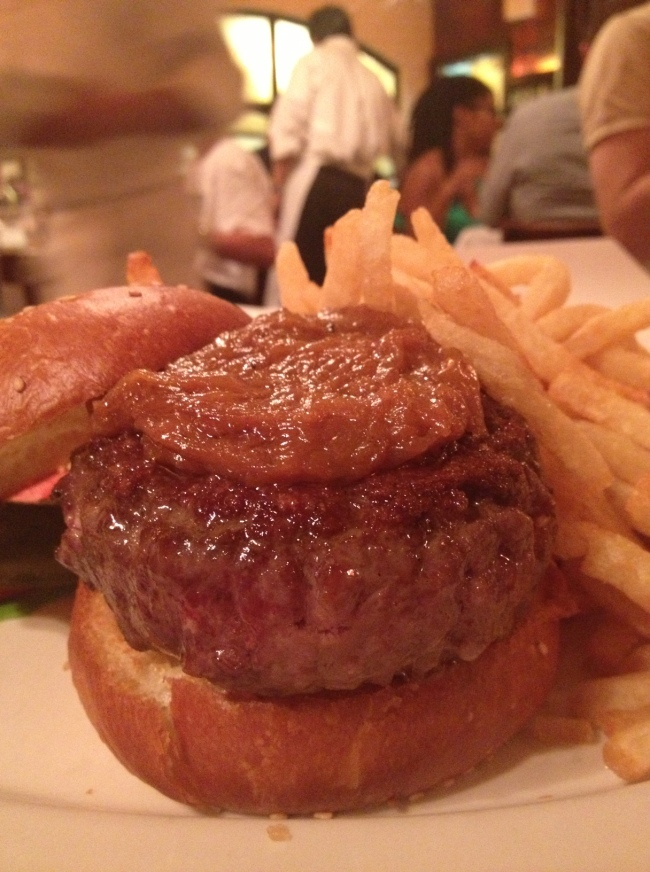 the world's most delicious burger: the 'black label burger' from minetta tavern.